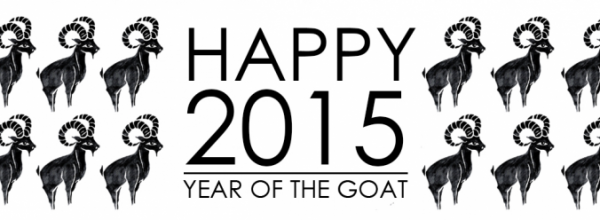 Happy New Year 2015 of the Goat!